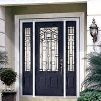 Входные металлические двери для загородного дома: эстетика и прочность
