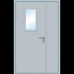 Противопожарная дверь с остеклением ДМП-О-02-ЕI 60 125см х 210см