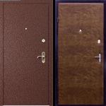 Квартирная дверь «Стандарт + Кожа»