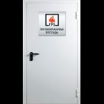 Противопожарная дверь без остекления ДМП-Г-01-ЕI 60 90х120