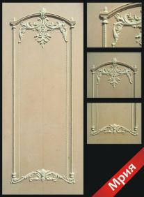Дверь 3D - модель Мрия
