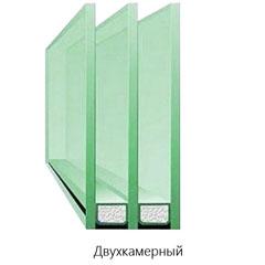 Окна ПВХ двухкамерные